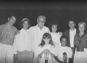 1re rangée: Geneviève McKinnon, Dhiya Tairou 2e rangée: Louis Morneau, Julie Morin, Alexandre Lagoya, Suzie Auclair, Claude McKinnon et Louise Morneau